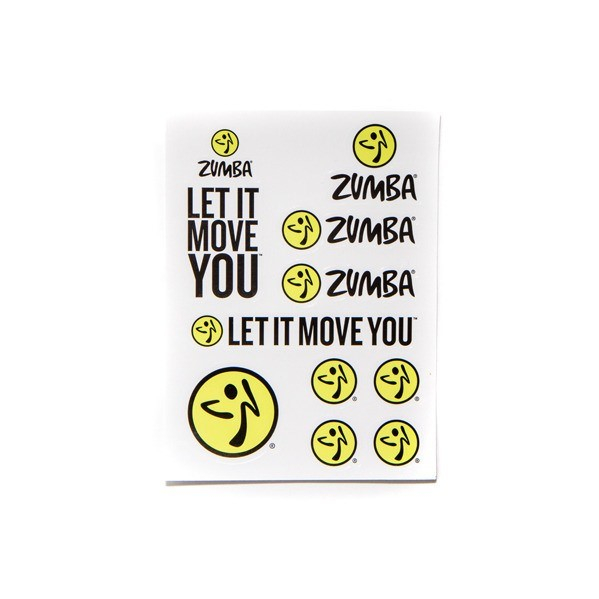 Let it Move You Stickers
