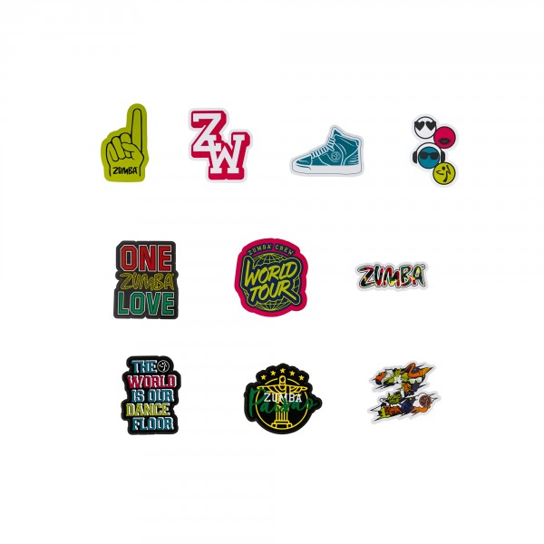 Zumba Crew Bag Of Stickers