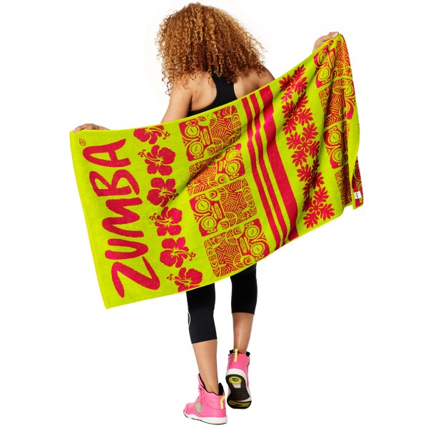 Zumba Vibes Beach Towel