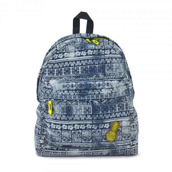 Lets Escape Denim Backpack
