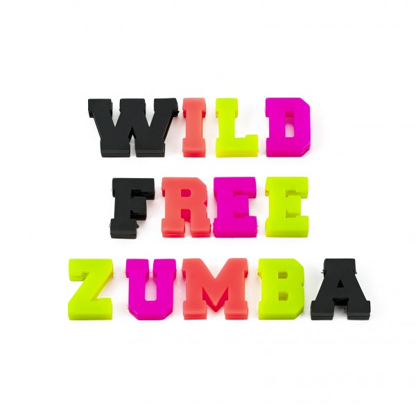 Wild About Zumba Shoe Charms 13pk