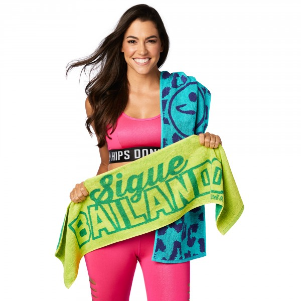 Sigue Bailando Fitness Towels 2Pk