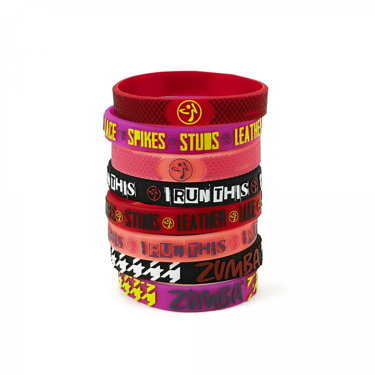 I Run This Rubber Bracelets 8Pk