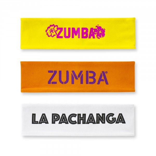 La Pachanga Reversible Headbands 3Pk