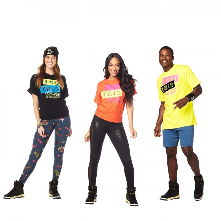 Zumba Got This Tees 6 PK
