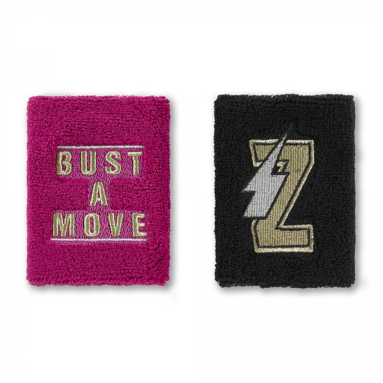 Zumba Bust A Move Wristbands 2 PK