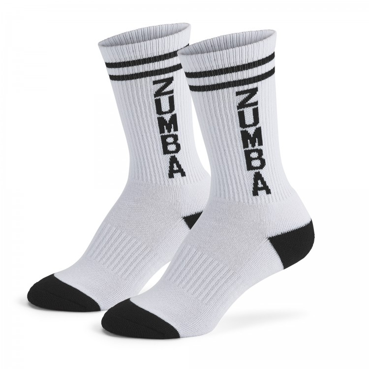 Zumba Crew White Socks