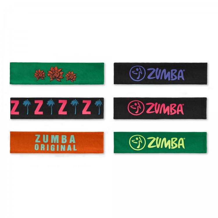 Zumba Original Headbands 3 PK
