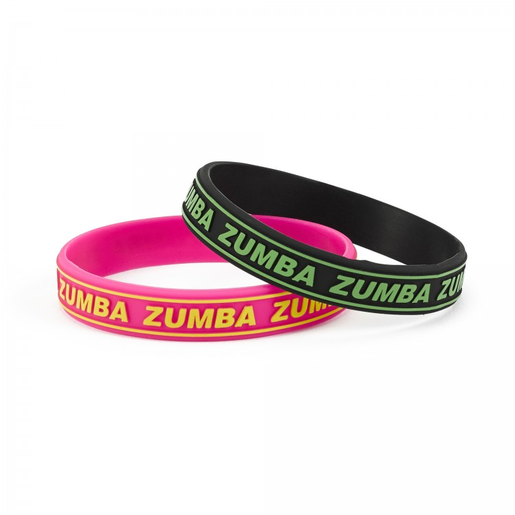 Zumba Everywhere Rubber Bracelets 25 PK