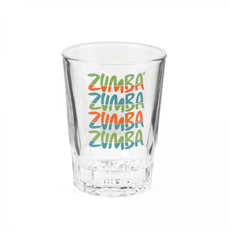 Zumba Forever Shot Glass