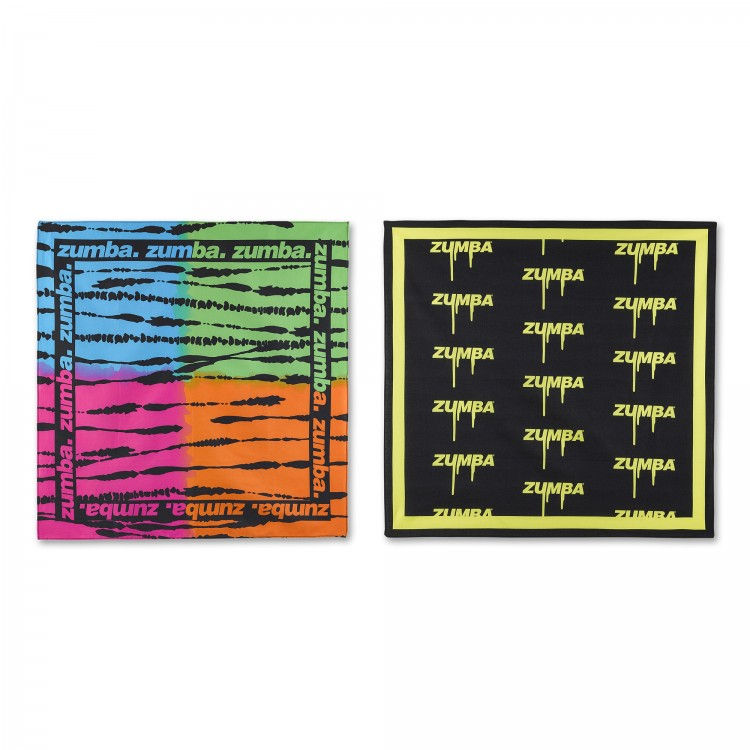 Dripping In Zumba Bandanas 2 PK