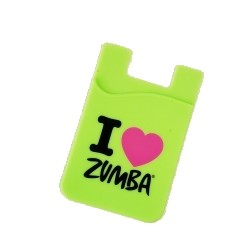 I Love Zumba Silicone Phone Wallet