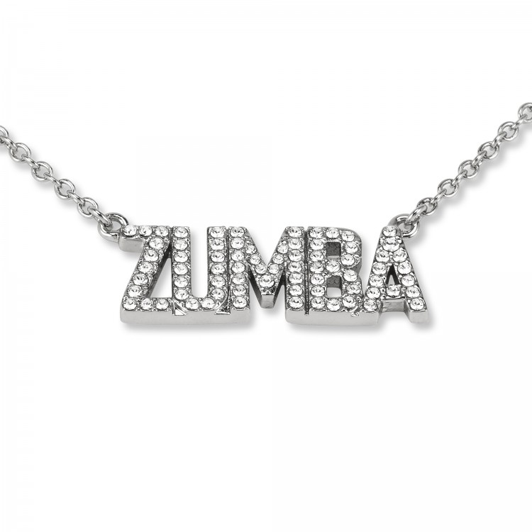 Zumba Necklace With Swarovski Crystals