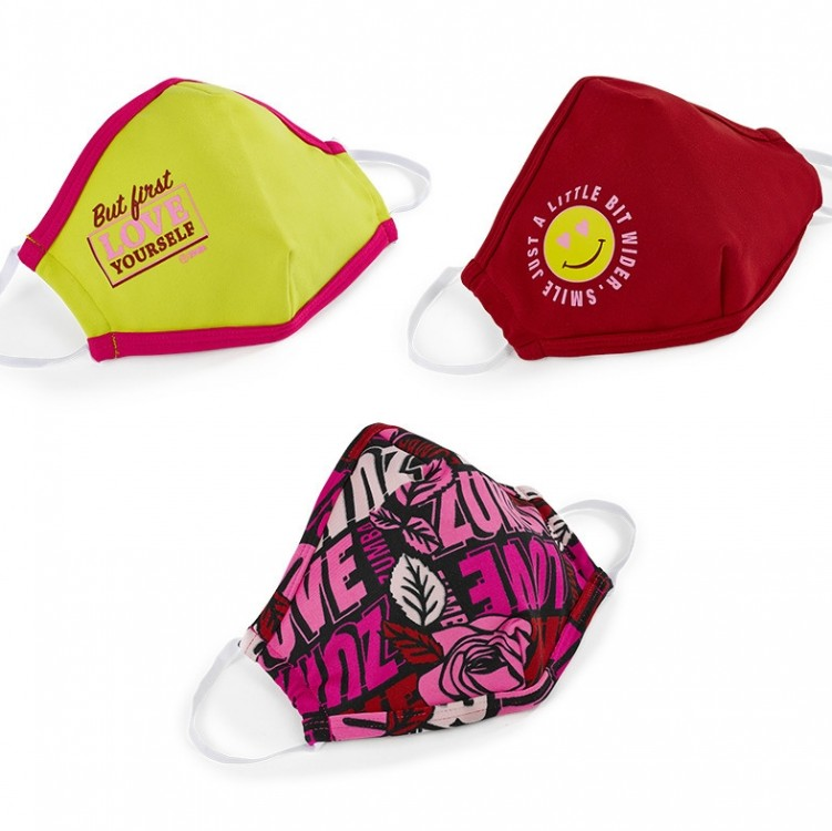 Zumba Love Face Cover 3 PK