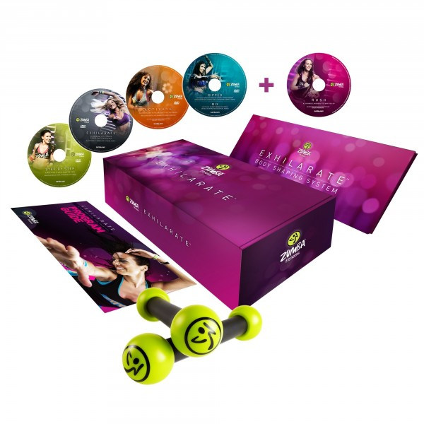 Zumba Exhilarate DVD PAL GER/ENG/SPA - Basic + Rush