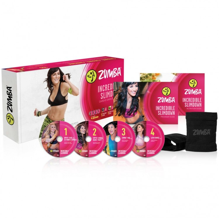 Zumba Incredible Slimdown 4 DVD