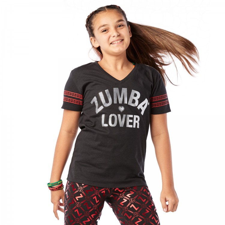 ZW Juniors Love V Neck Top - ELŐRENDELÉS