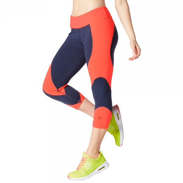 Team Zumba Capri Leggings