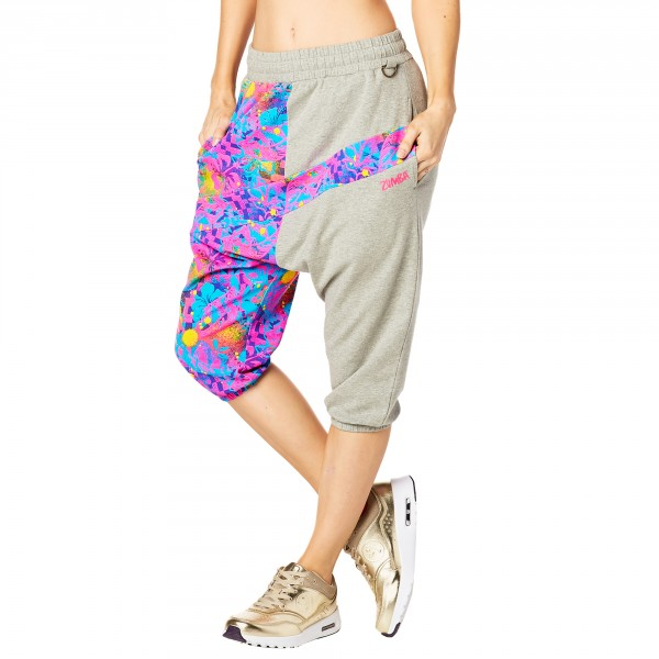 Queen Of The Jungle Harem Capri Pants