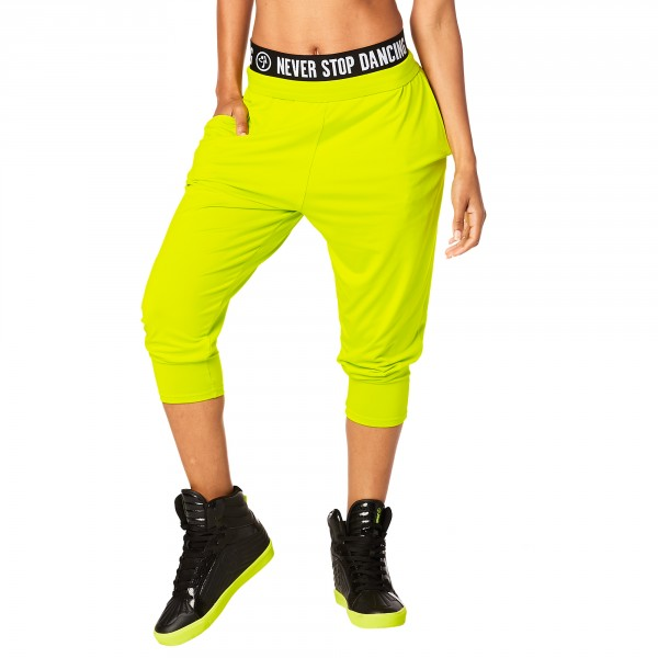 Team Zumba Harem Dance Pants
