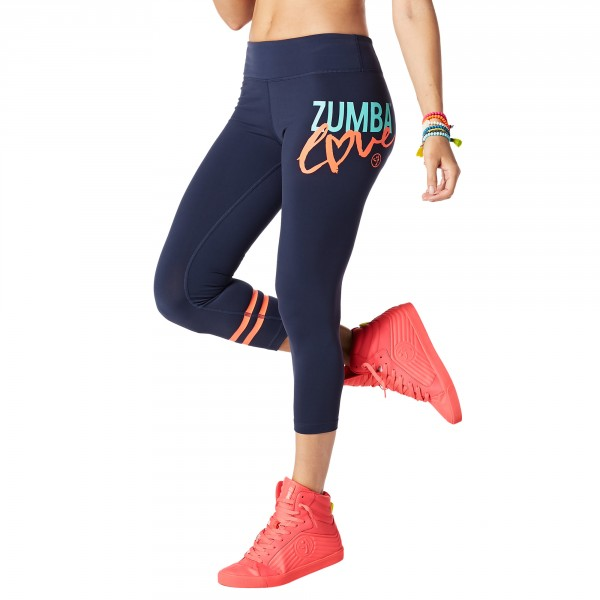 Zumba Love Perfect Crop Leggings
