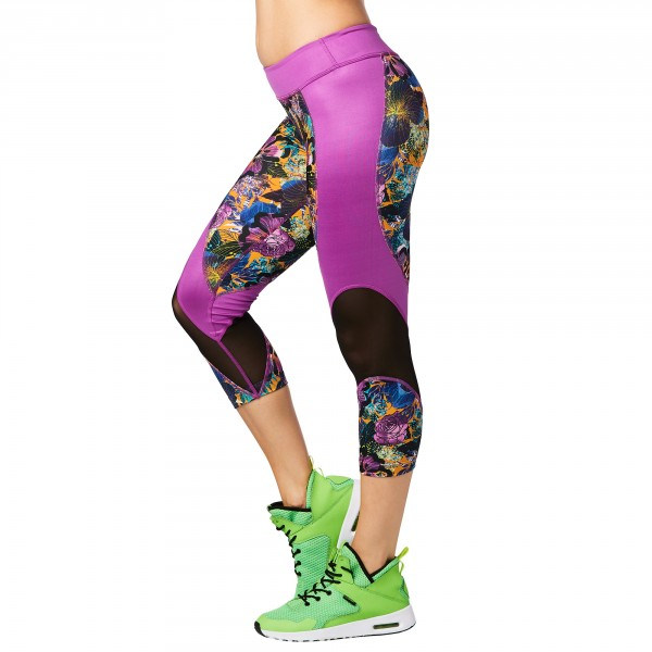 La Pachanga Mesh Capri Leggings