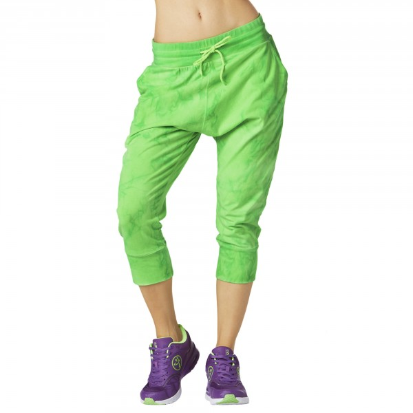 Forever Wild Cropped Harem Dance Pants