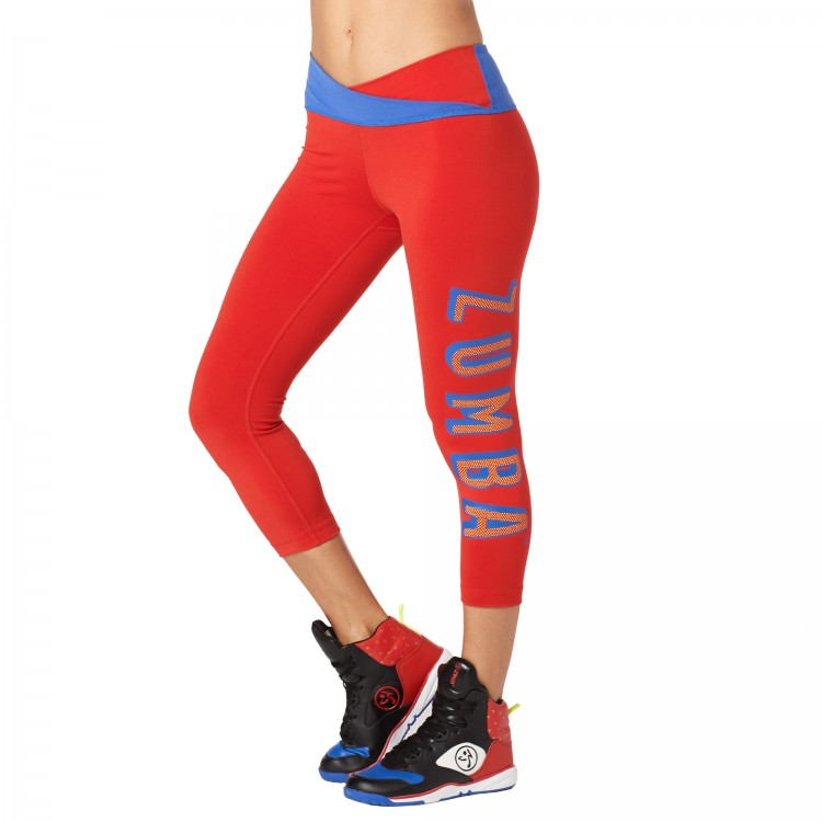 Dance Like A Boss Crop Leggings