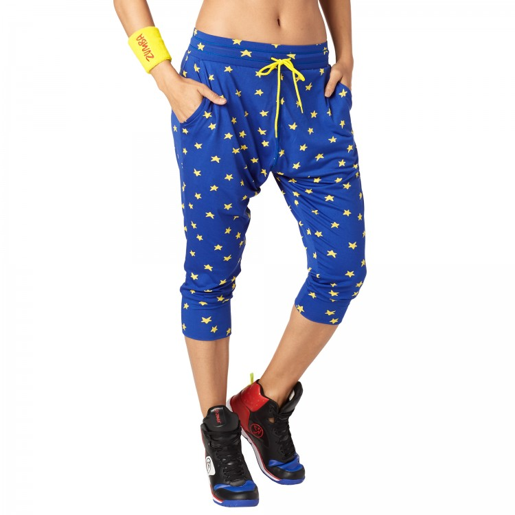 Zumba Power Cropped Harem Pants