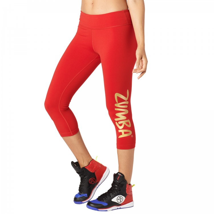 Zumba Shine Capri Leggings
