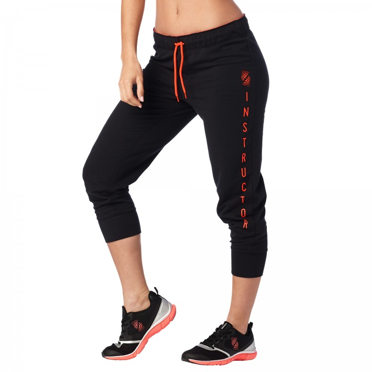Strong By Zumba Cropped Skinny Sweatpants (instructor)