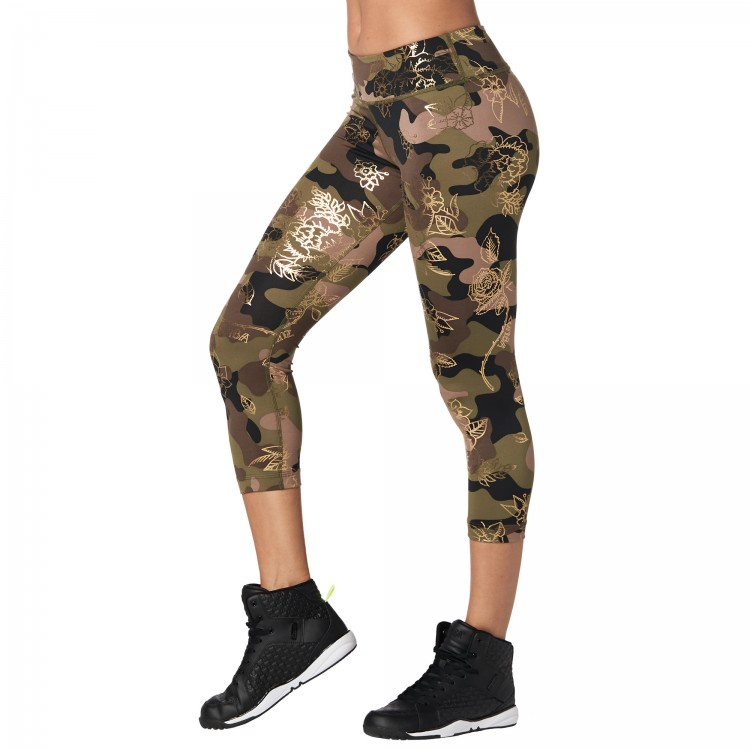 Zumba Revolution Crop Leggings