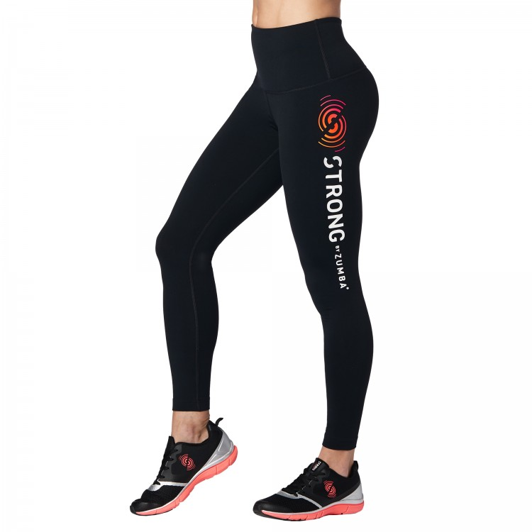 STRONG by Zumba High Waisted Leggings - ELÕRENDELÉS