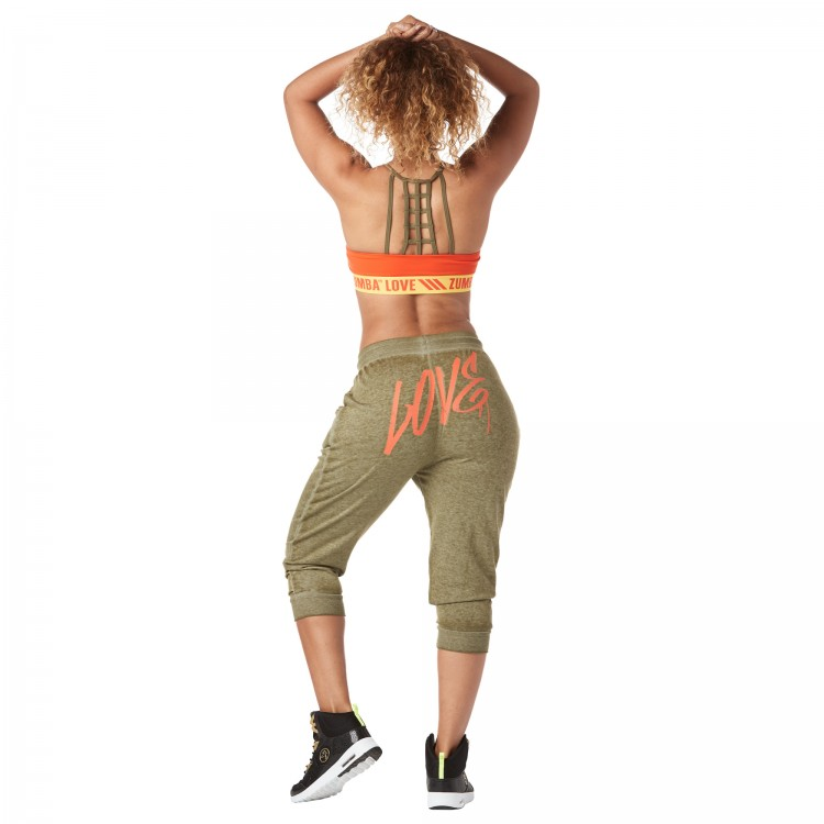 Zumba Love Capri Sweatpants