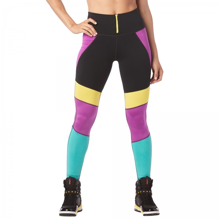 I Want My Zumba High Waisted Leggings
