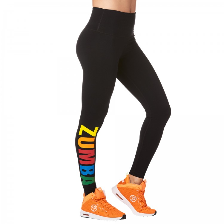Zumba Next Level High Waist Ankle Leggings