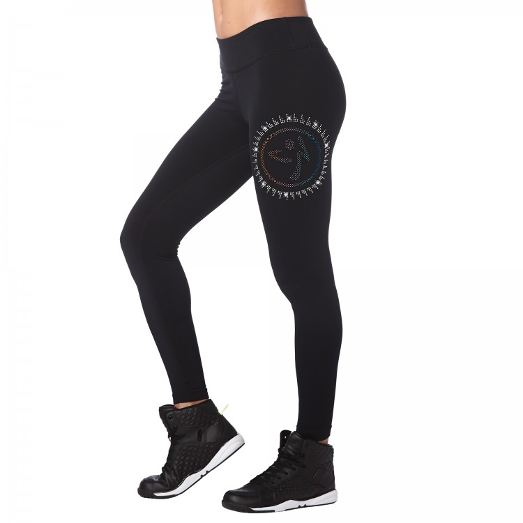 Zumba Ankle Leggings With Swarovski Crystals