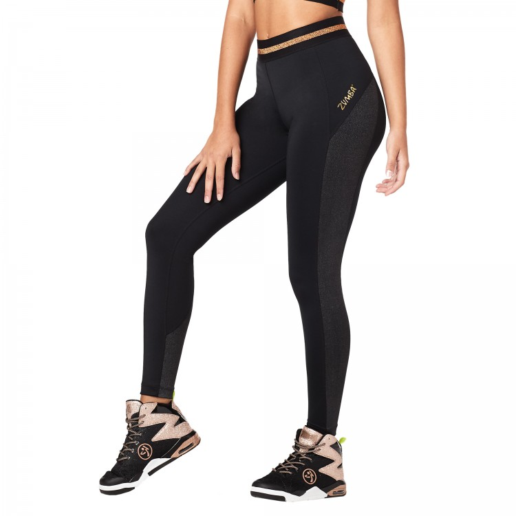 All That Glitters Is Zumba Ankle Leggings