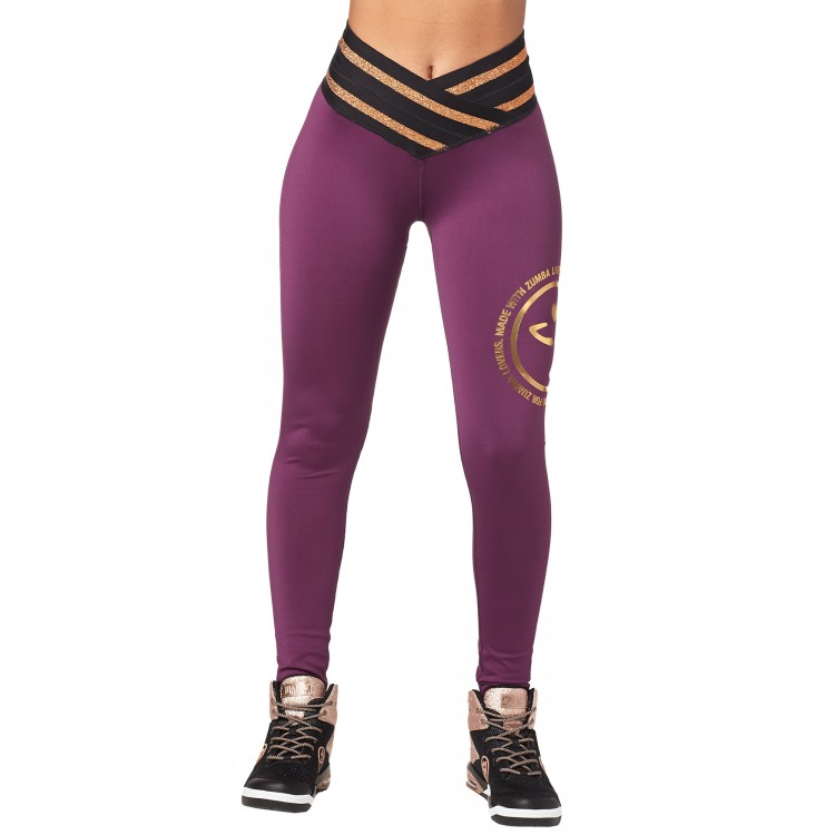 Zumba Inspire High Waist Long Leggings