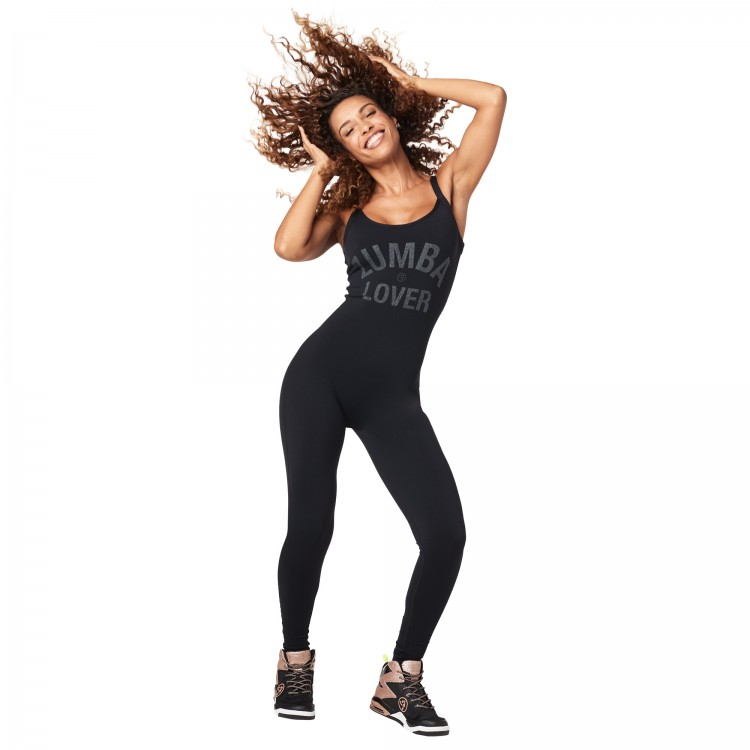 Zumba Glam Open Back Bodysuit