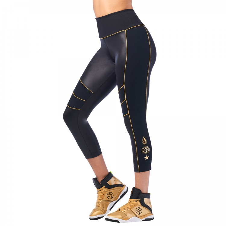Zumba 2020 Panel Crop Leggings