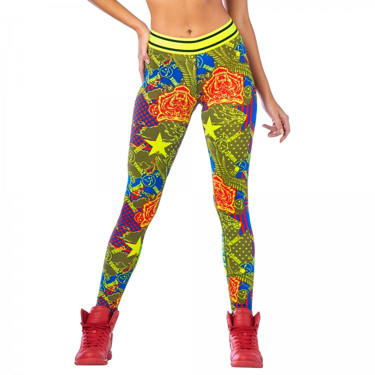 Zumba Dance League Long Leggings