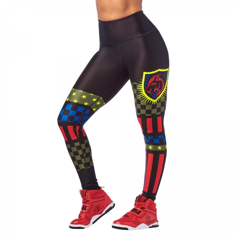 Zumba 2020 High Waisted Ankle Leggings