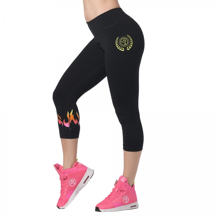 Zumba Lets Go Capri Leggings
