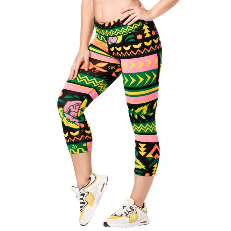 Zumba Dance Tribe Perfect Capri Leggings