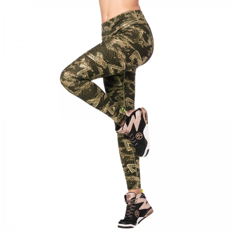 Zumba Mix It Up Perfect Ankle Leggings