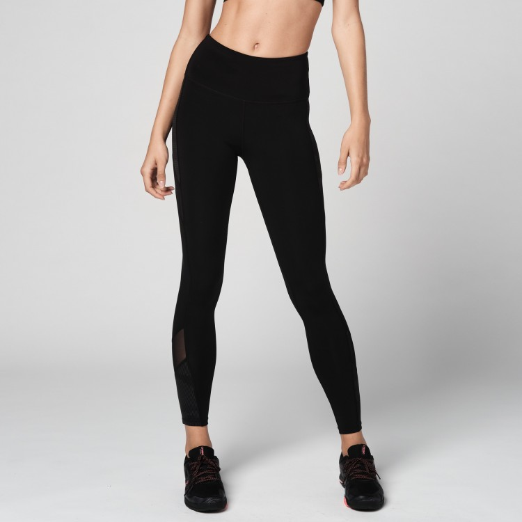 Reflective High Waisted Mesh Leggings - ELÕRENDELÉS