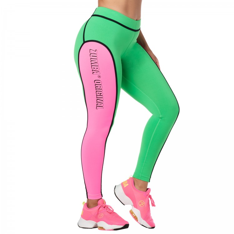 Zumba Original Piped Ankle Leggings