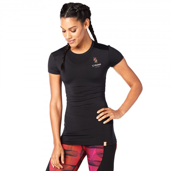 Strong By Zumba Instructor Compression Tee - ELŐRENDELÉS