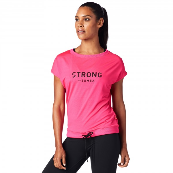 Strong by Zumba Instructor Drawstring Top - ELŐRENDELÉS